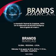 Estudio sobre Marcas Globales se presentará  en Seminario de ANDA y McCann