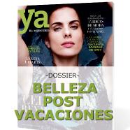 Dossier Belleza Post Vacaciones de Revista Ya