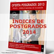 Índice de Postgrados 2014