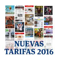 Nuevas Tarifas 2016 de El Mercurio