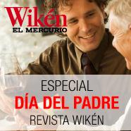 Especial Día del Padre revista Wikén