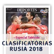 Especial Clasificatorias Rusia 2018 Revista Deportes