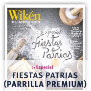 Especial Fiestas Patrias (Parrilla Premium) Revista Wikén