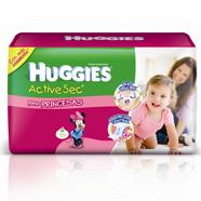 Pañales Huggies lanza Active Sec Campeones y Princesas.
