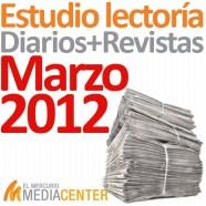 Estudio de lectoría en diarios y revistas: Marzo 2012