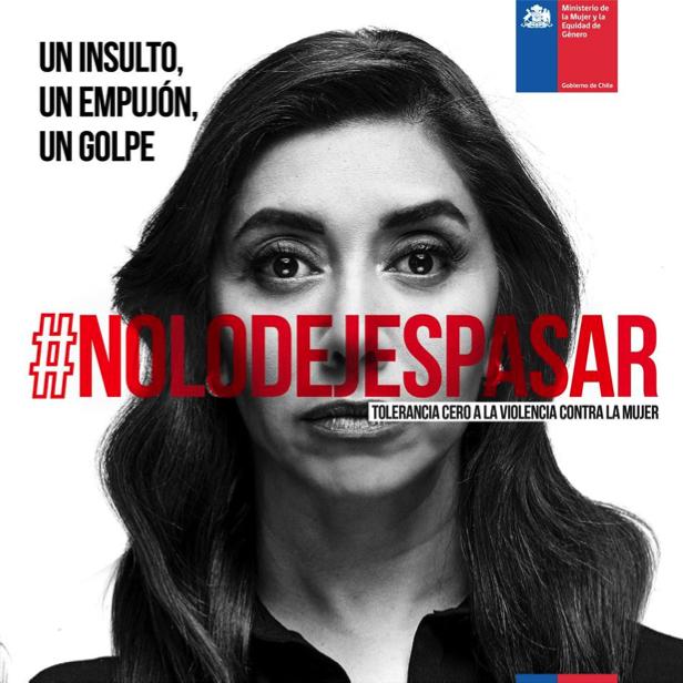 """Súmate a la campaña en contra la violencia de la mujer y """"No lo dejes pasar"""""""