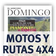 Especial Motos y Rutas 4×4 Revista Domingo