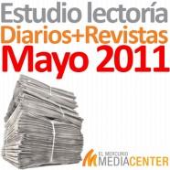 Estudio de lectoría en diarios y revistas: Mayo 2011