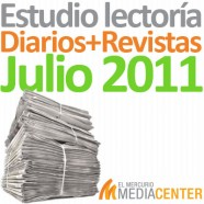 Estudio de lectoría en diarios y revistas: Julio  2011