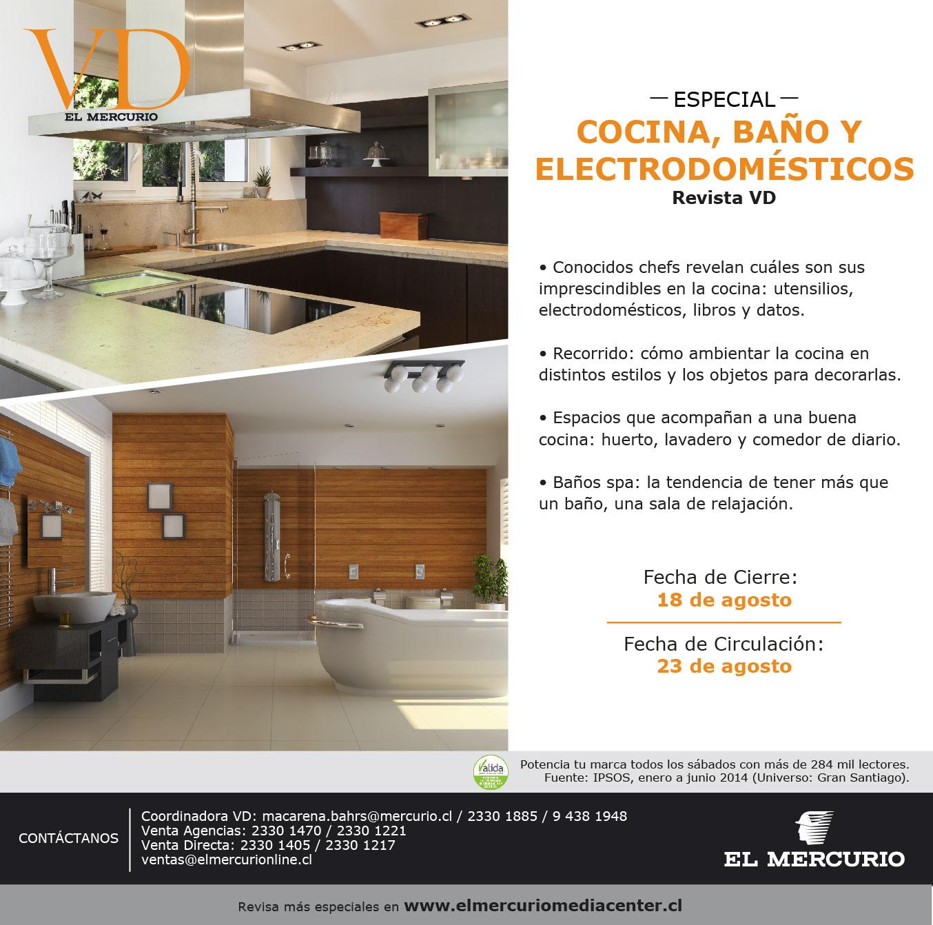 Especial Cocina, Baño y Electrodomésticos Revista VD - El Mercurio ...
