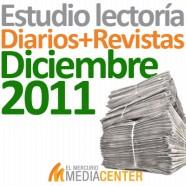Estudio de lectoría en diarios y revistas: Diciembre 2011