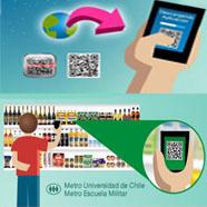 Jumbo estrena sistema de compra vía góndolas virtuales en estaciones de Metro