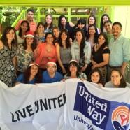 Niños de Huechuraba reciben obsequios de Voluntarios de Kimberly-Clark y Fundación United Way