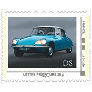 Servicio de correo francés conmemora a Citroën con estampillas históricas