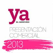 Nueva presentación comercial Revista Ya 2013