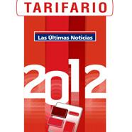 Nuevo tarifario Las Últimas Noticias 2012